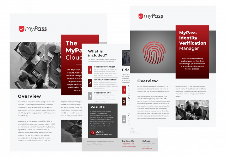 MyPass Marketing Package Page Header